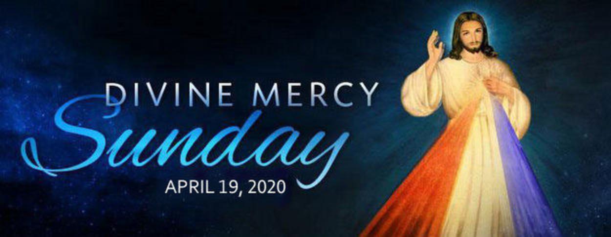 1 Divine Mercy Sunday 20201
