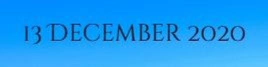 13 Dec Newsletter