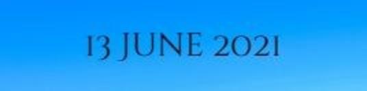 13 June