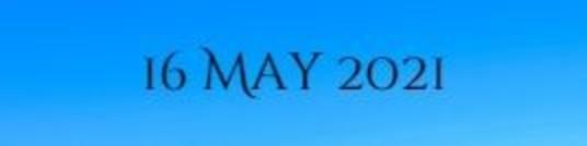 16 May 2021