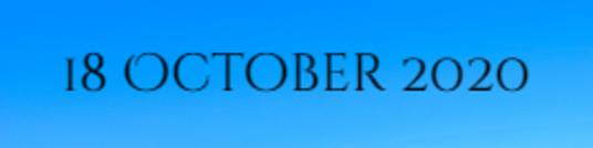 18 October 2020