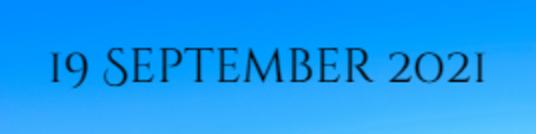 19 September 2021 2