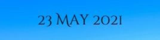 23 May 2021