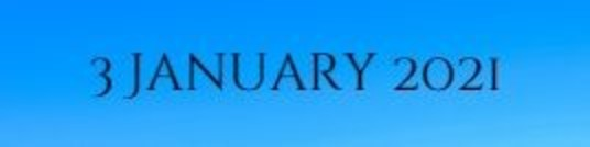 3 January