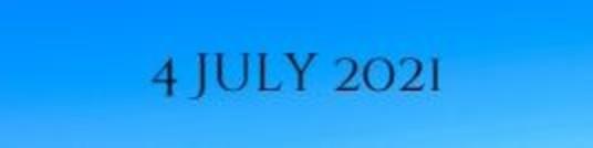 4 July 2021