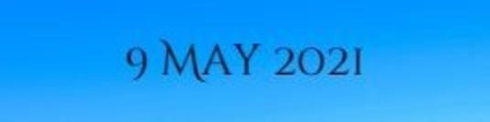 9 May 2021 1
