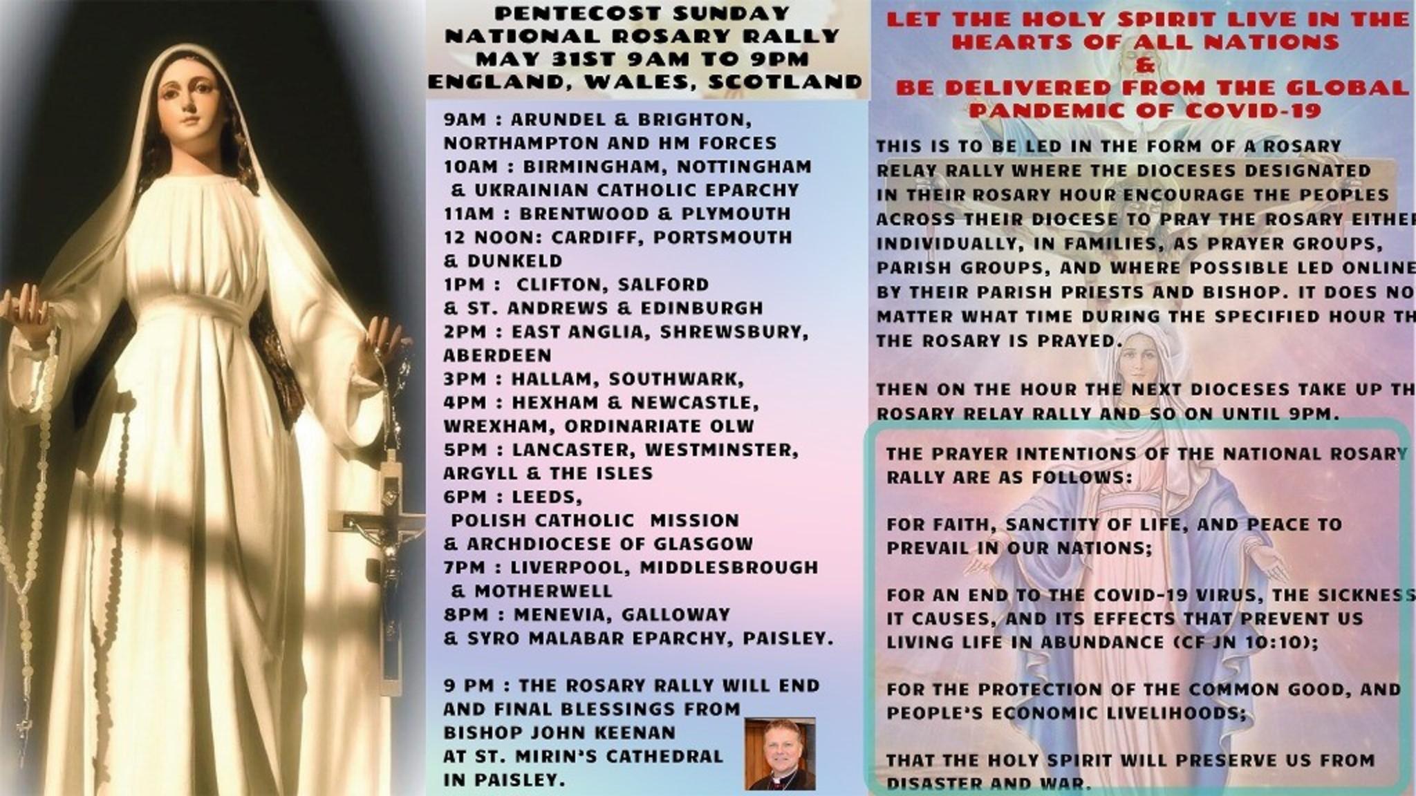 Pentecost National Rosary Rally Pdf 1