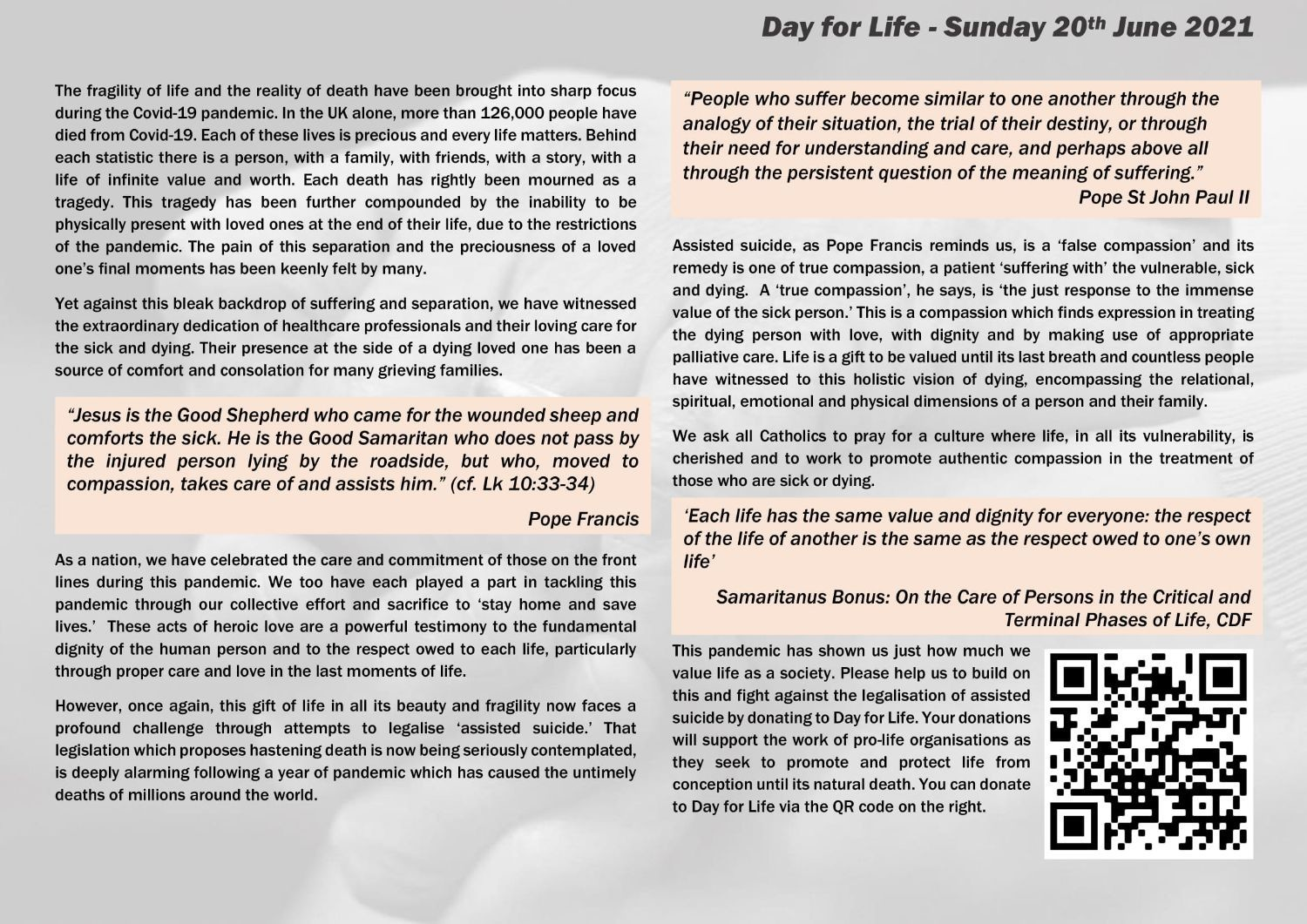 Day For Life Poster 2 1