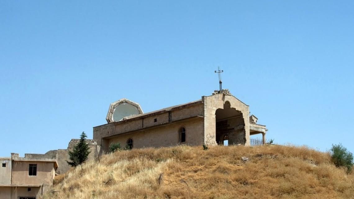 Destroyed Church Mosul 1200 800