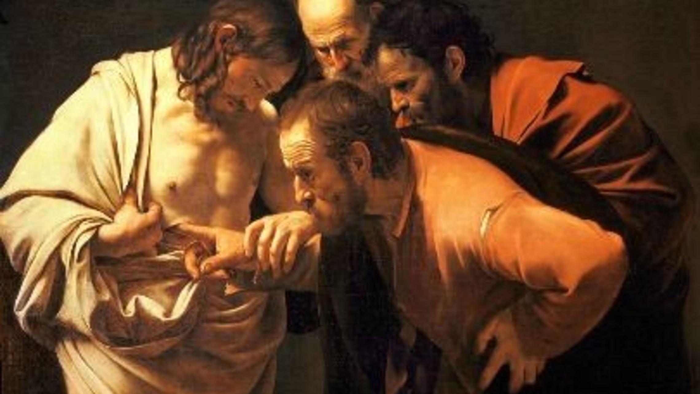 Incredulity Of Saint Thomas 1602 1