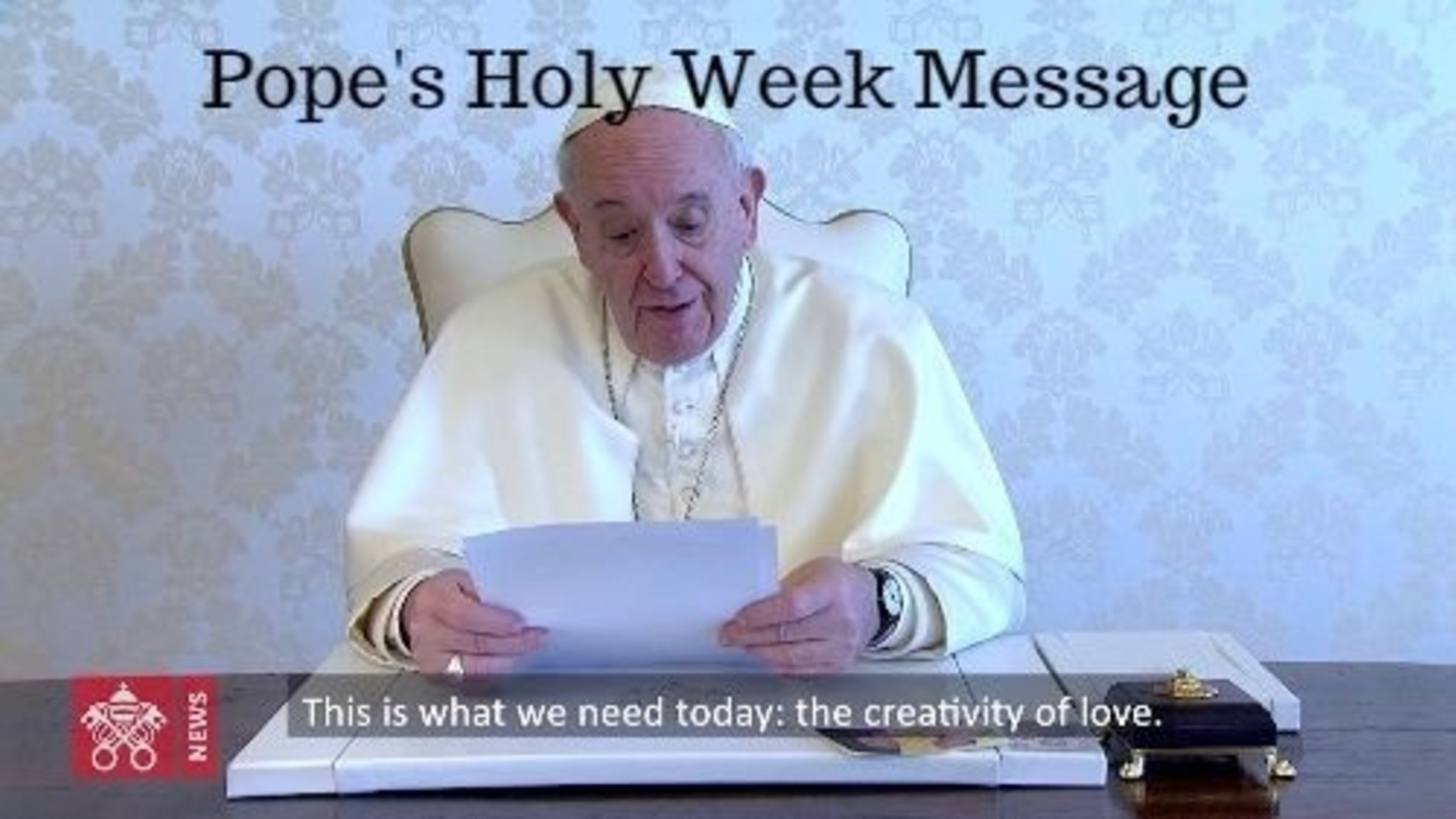 Pope Francis 20200403 Top News