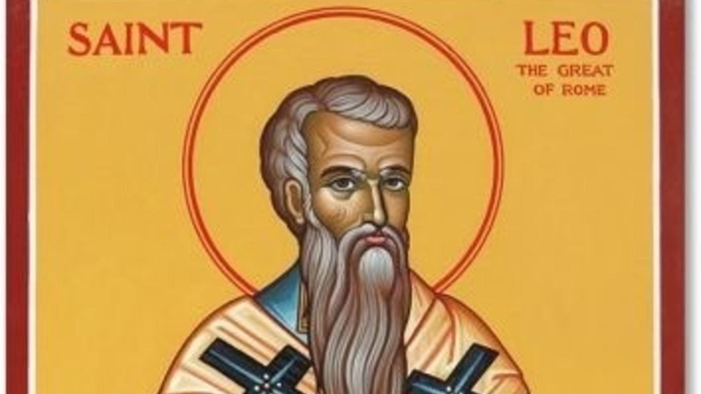 Saint Leo The Great Original Icon Pm409 1