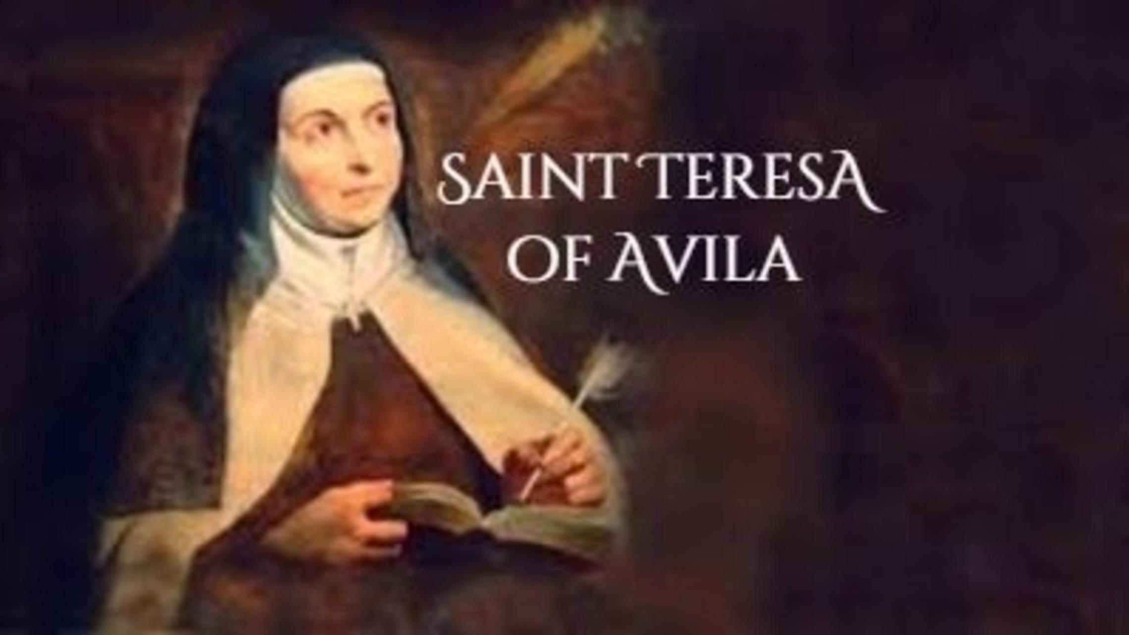 St Teresa Of Avila 1