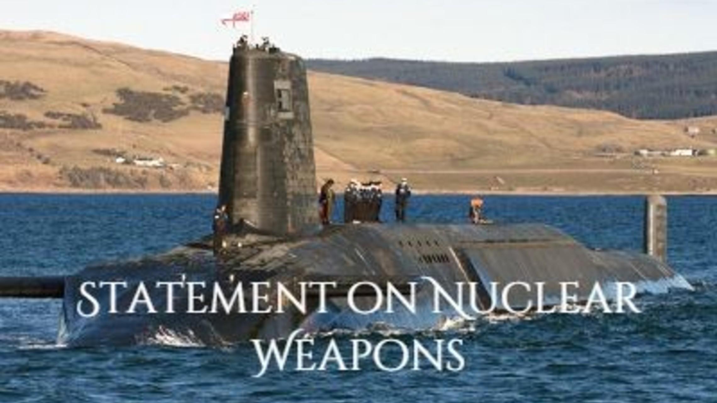 Trident Nuclear Submarine Tn2