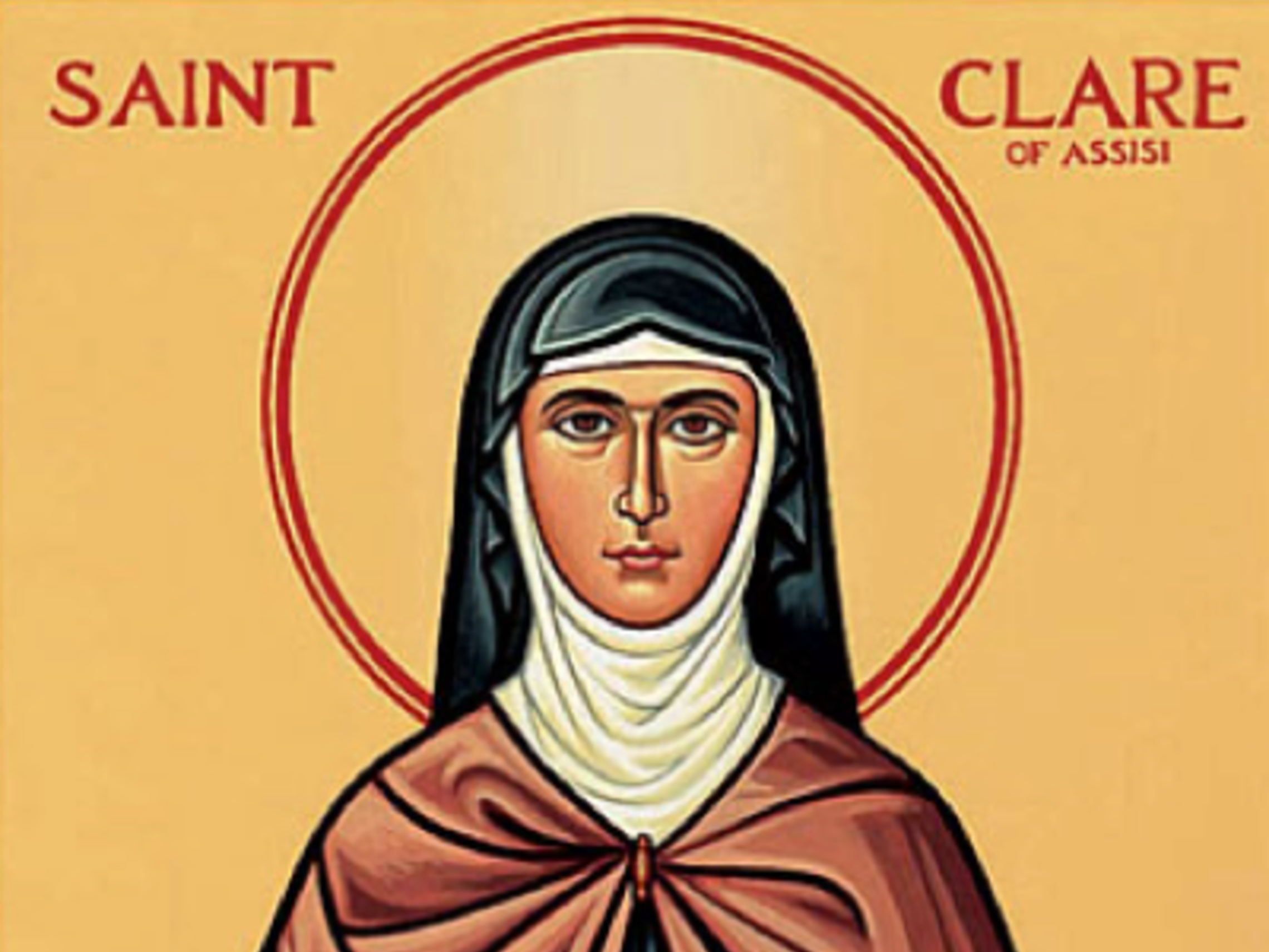 St Clare Of Assisi 1