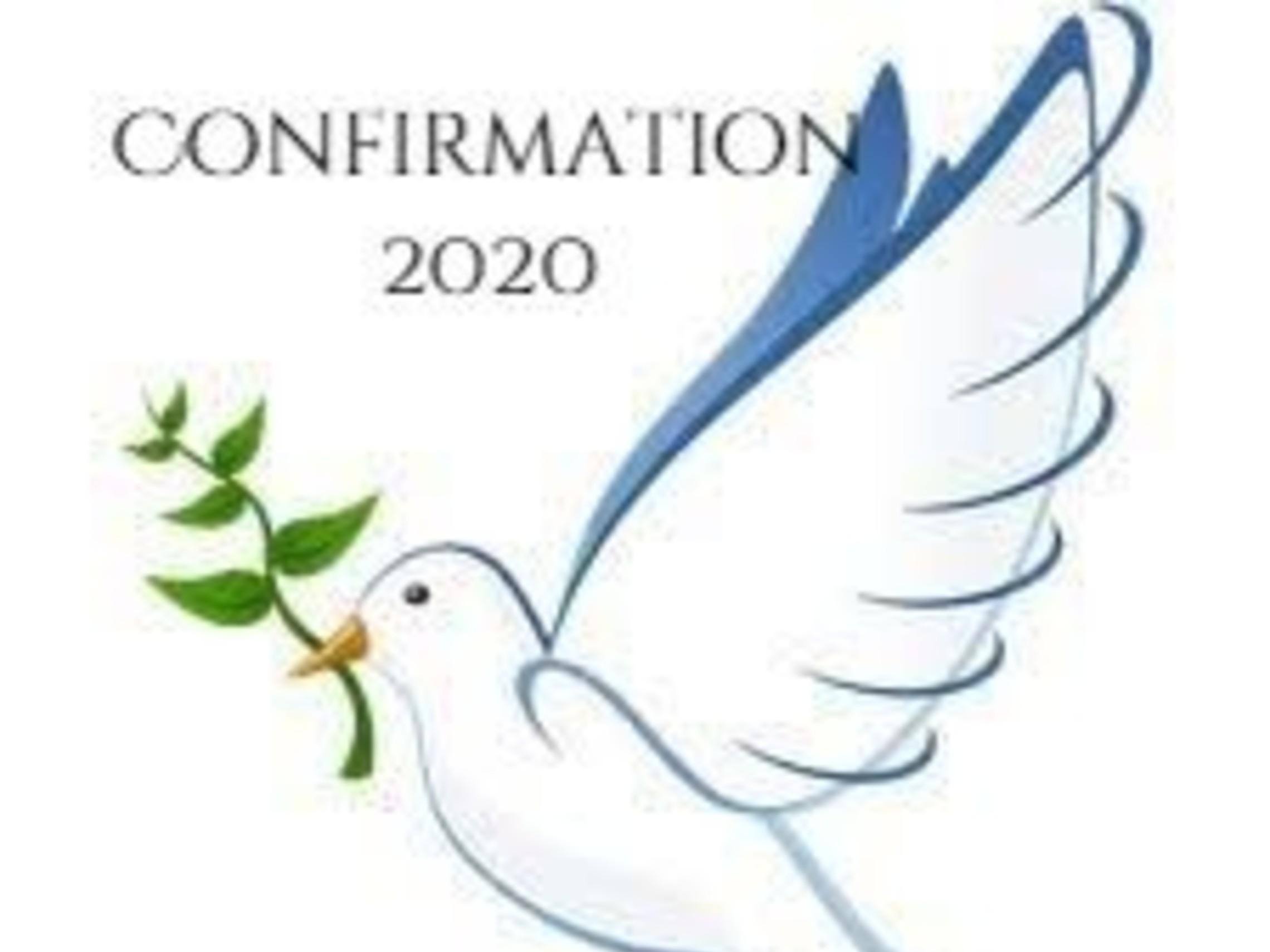 Confirmation 2020