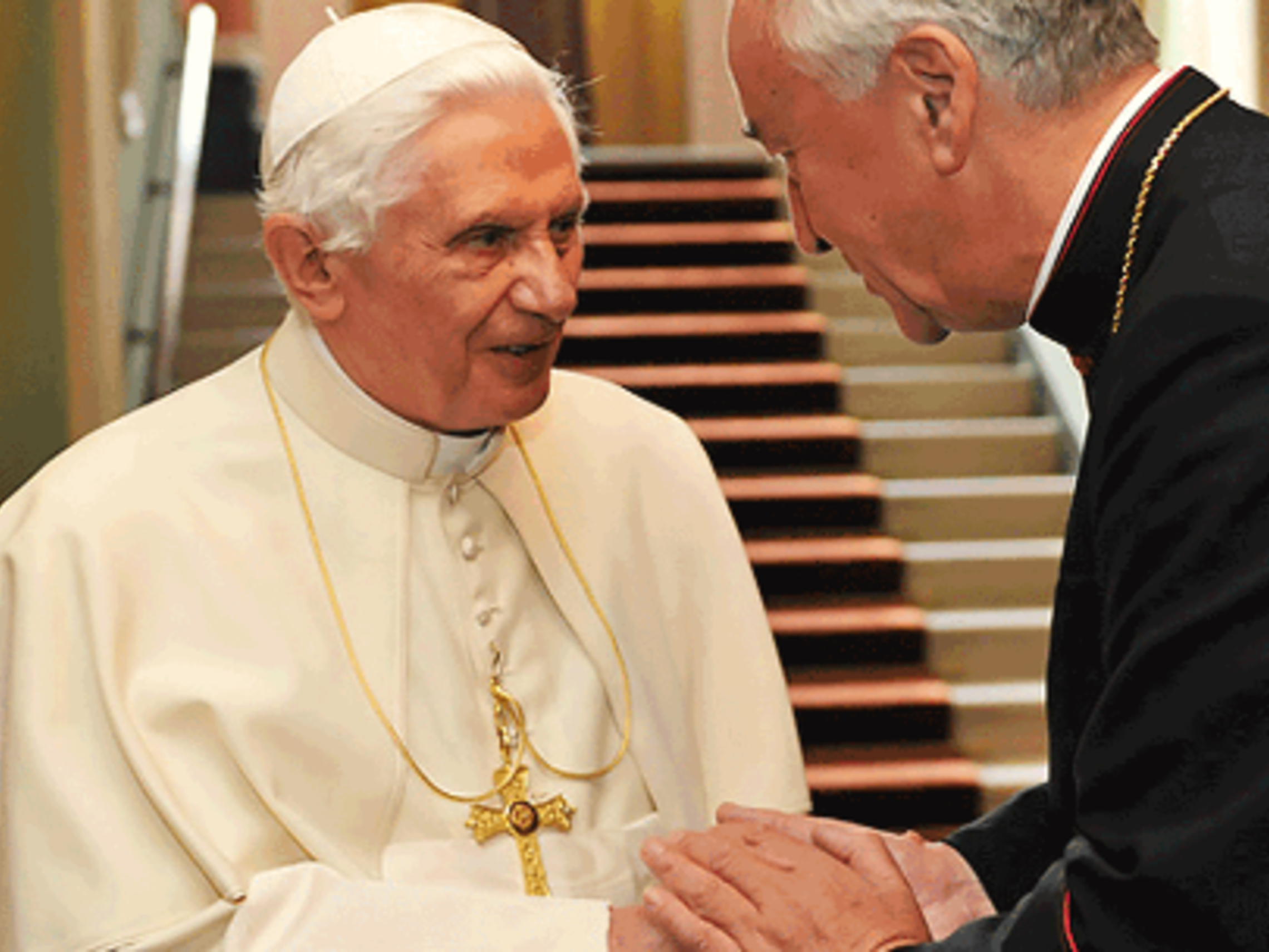 Pope Benedict With Arch Nichols 1