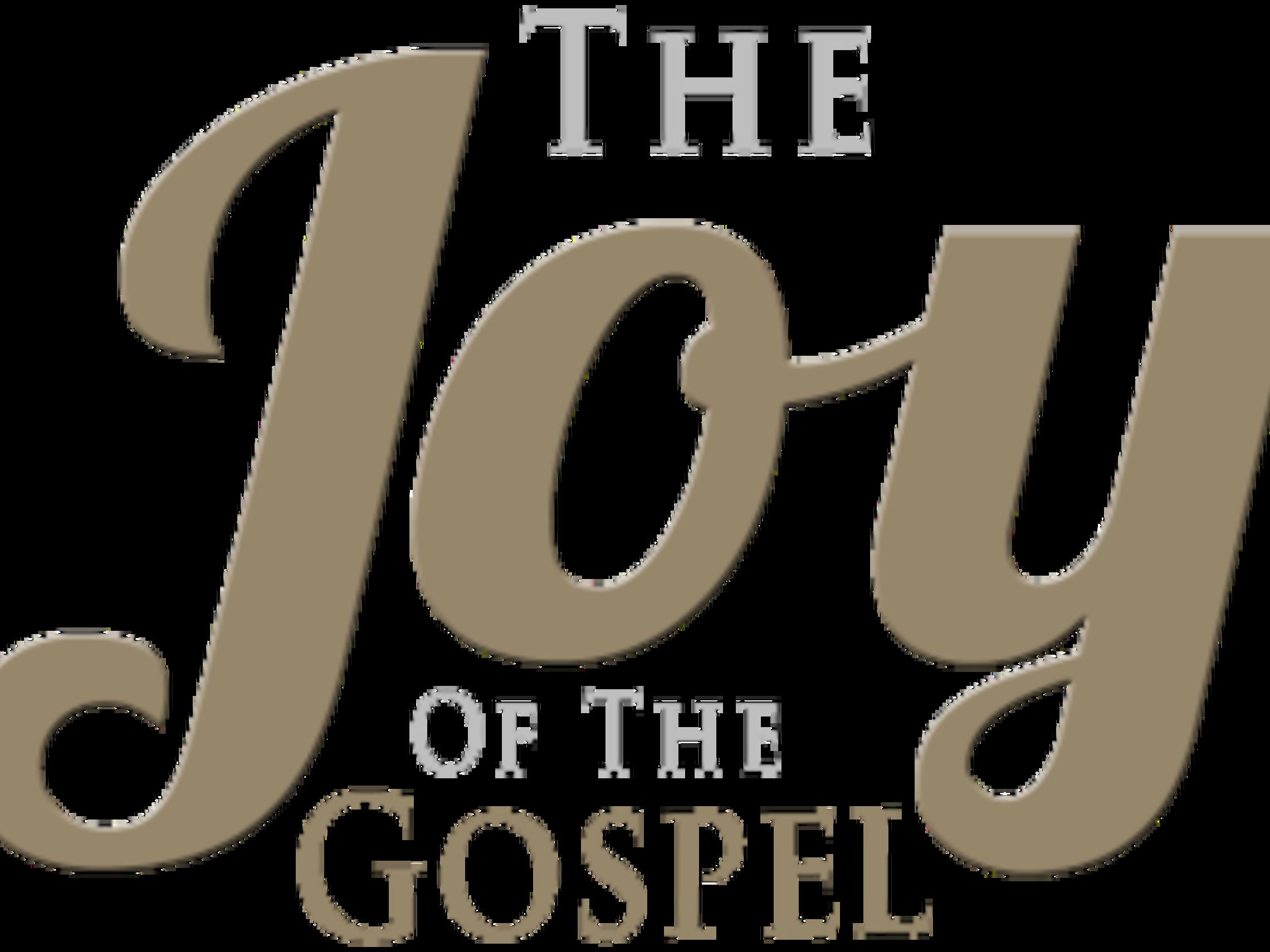 The Joy Of The Gospel Logo 2 1